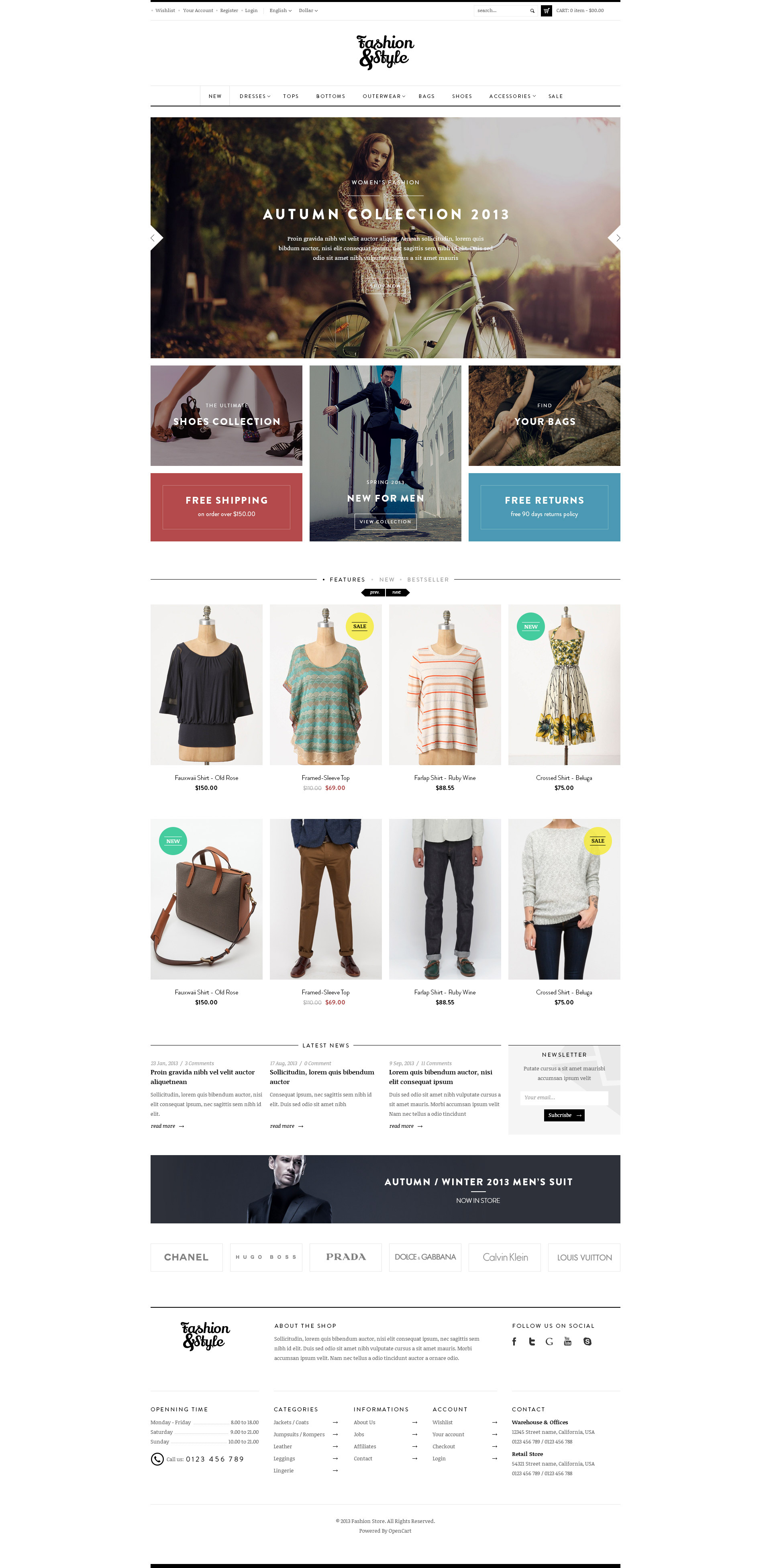Fashion ECommerce Website Design Los Angeles