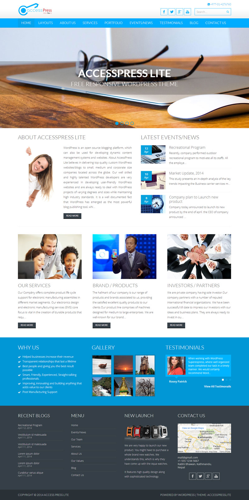 Wordpress Website Design Los Angeles