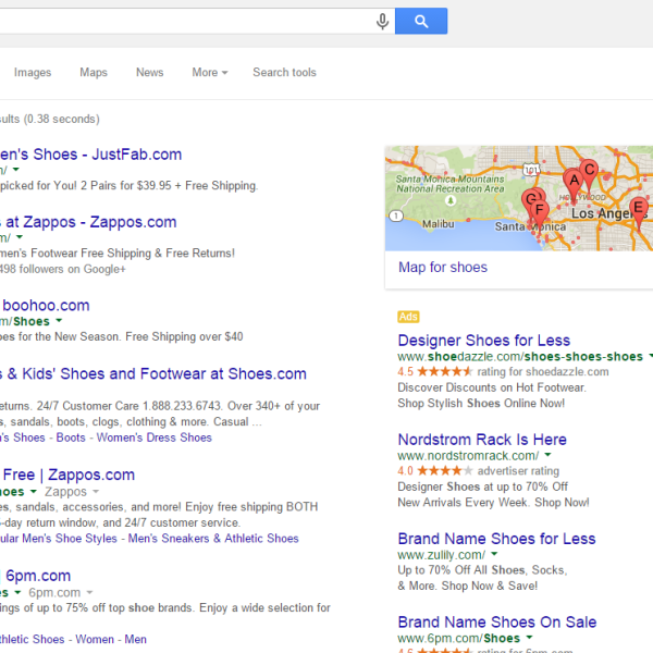 pay per click advertising paid search management los angeles